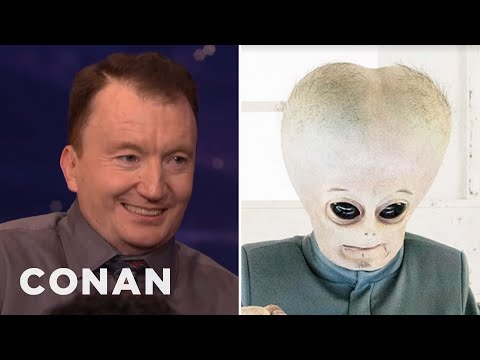 "Ken Hall & The ""People Of Earth"" Aliens On Their Costume Woes  - CONAN on TBS"