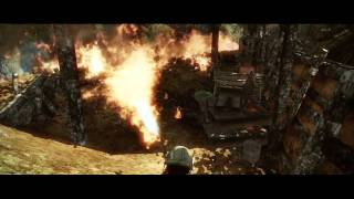 Battlefield: Bad Company 2 Vietnam Flame-thrower Action
