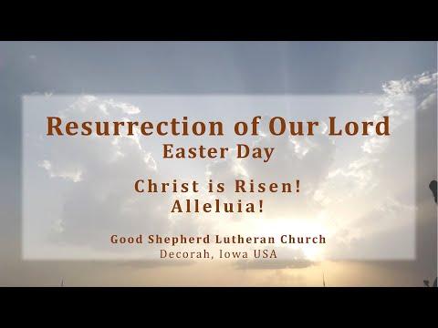 Good Shepherd Lutheran Church, Easter Service