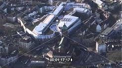 Aachener Dom und Einkaufszentrum Aquis Plaza  in Aachen im Bundesland Nordrhein-Westfalen