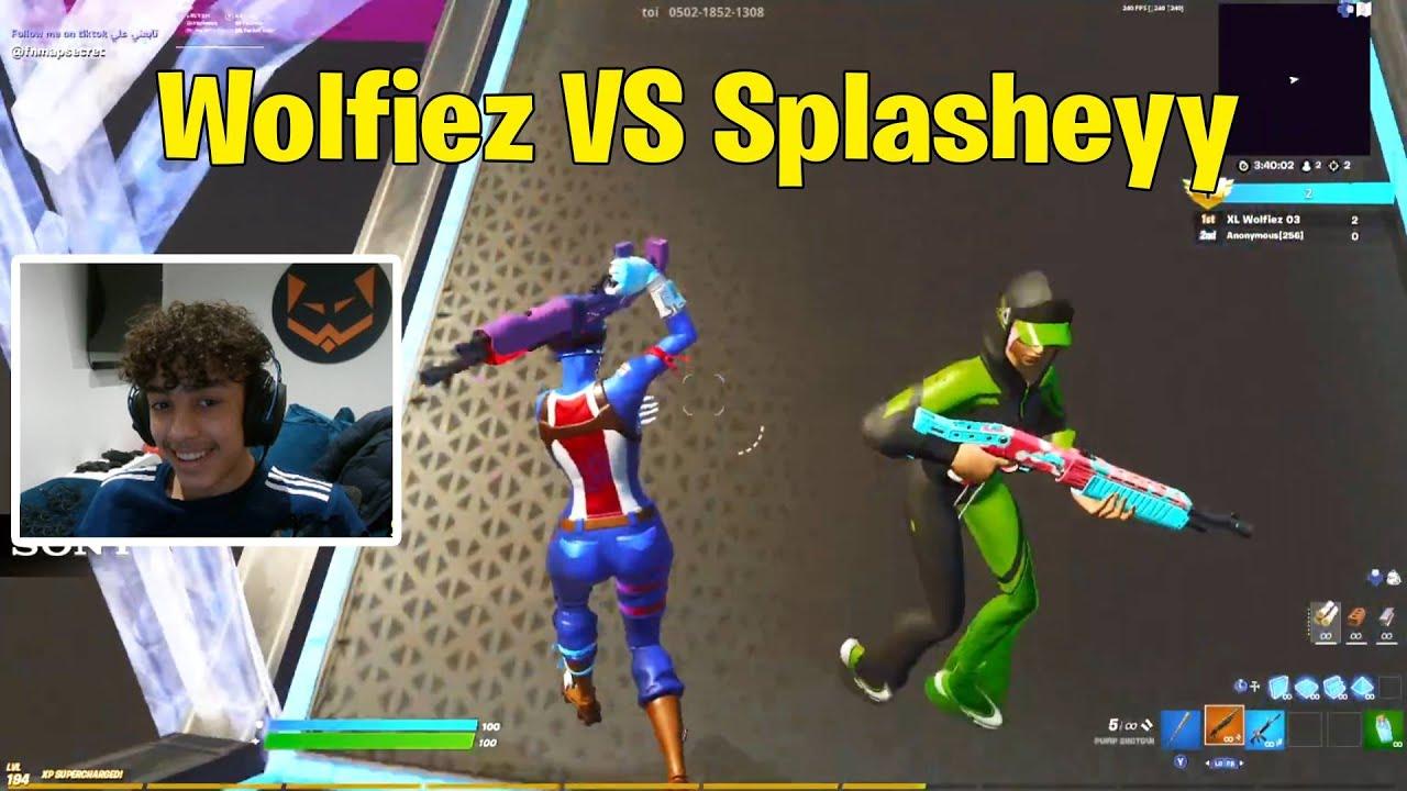 Wolfiez VS Splasheyy 1V1 Buildfights!