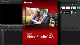 Corel VideoStudio Pro X8: Review & What