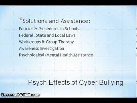 Emotional effects of cyberbullying