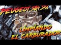Peugeot 504 SRX / limpiando el carburador