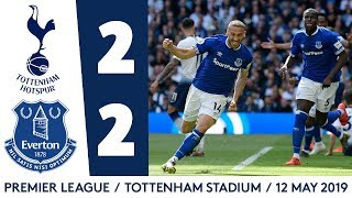 CENK TOSUN AND THEO WALCOTT ON TARGET! | HIGHLIGHTS: SPURS 2-2 EVERTON