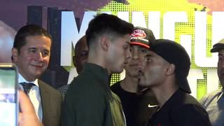 Ryan Garcia responds to Avery Sparrow's comments followed by heated face-off