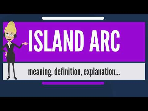 What is ISLAND ARC? What does ISLAND ARC mean? ISLAND ARC meaning, definition & explanation