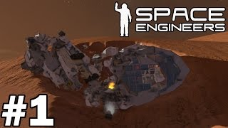 Space Engineers (Planet Survival 2) - Part 1