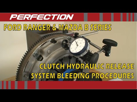 Ford Ranger & Mazda B-Series Pickup Clutch Hydraulic Release System Bleeding Procedures