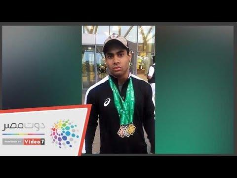 أول تعليق من محمد إيهاب بعد إنجاز بطولة العالم لرفع الأثقال  - 20:54-2018 / 11 / 8