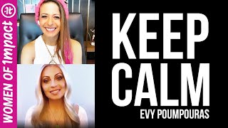How to Stay Calm and in Control During Coronavirus | Evy Poumpouras & Lisa Bilyeu on Instagram Live