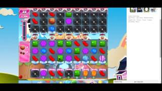 Candy Crush Saga Level 738 completed