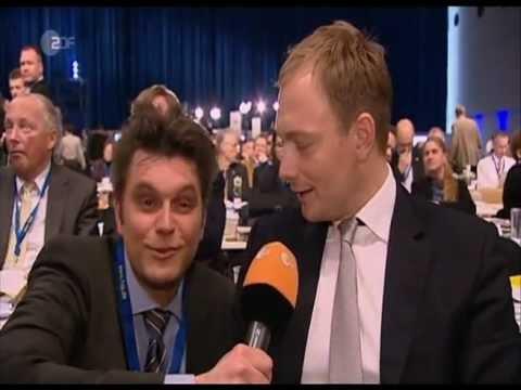 Lutz van der Horst  hilft der FDP (heute-show vom 27.04.12)