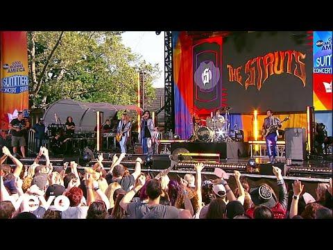 The Struts - Body Talks (Live On Good Morning America's Summer Concert Series)