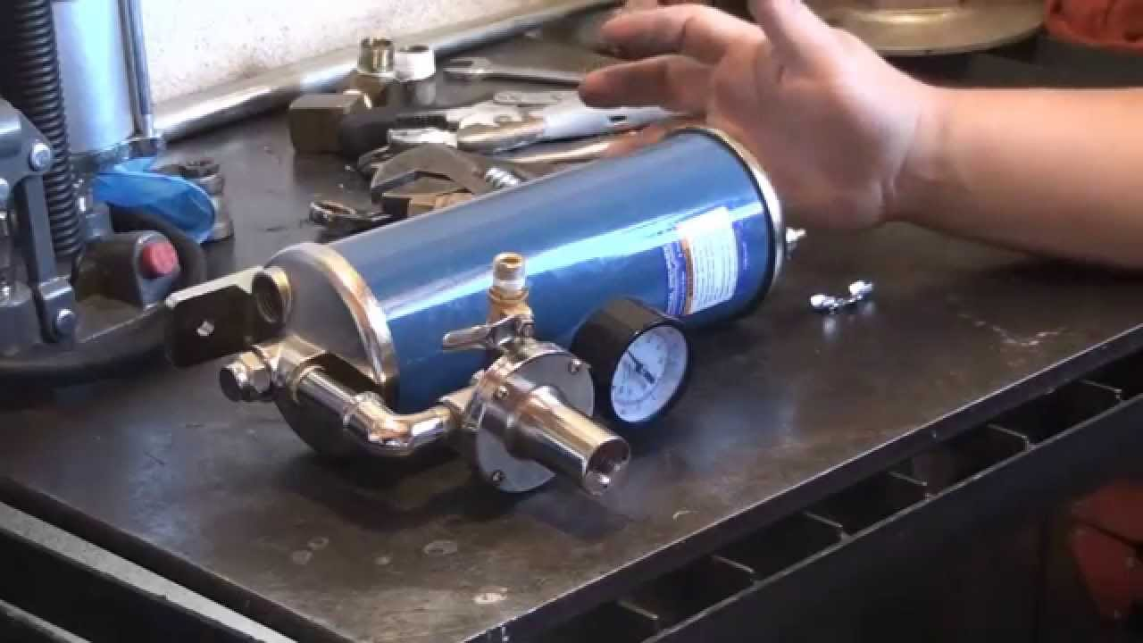 Automatic Compressor Drain Kit Harbor Freight