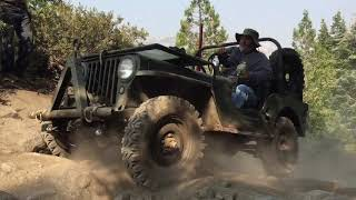 Vintage Willys Jeeps Rubicon Trail 2018 (Day 3)
