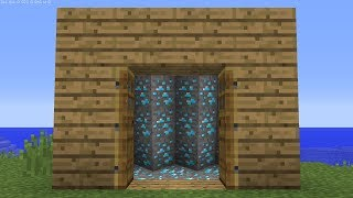 Minecraft UHC but DOORS are PORTALS...