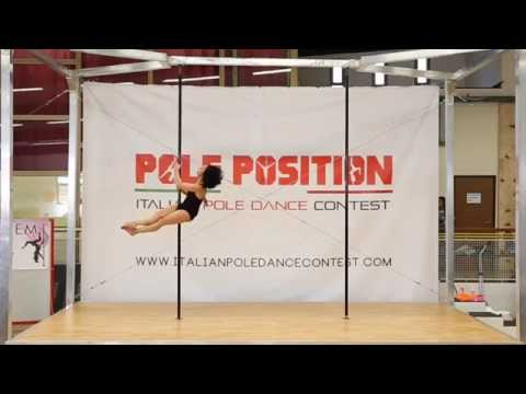 Zara Nelson base italian poledance contest2015