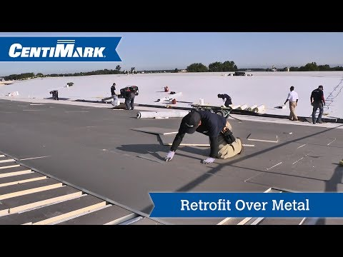 Retrofit Metal Roof System Video | TPO Roofing | CentiMark Channel
