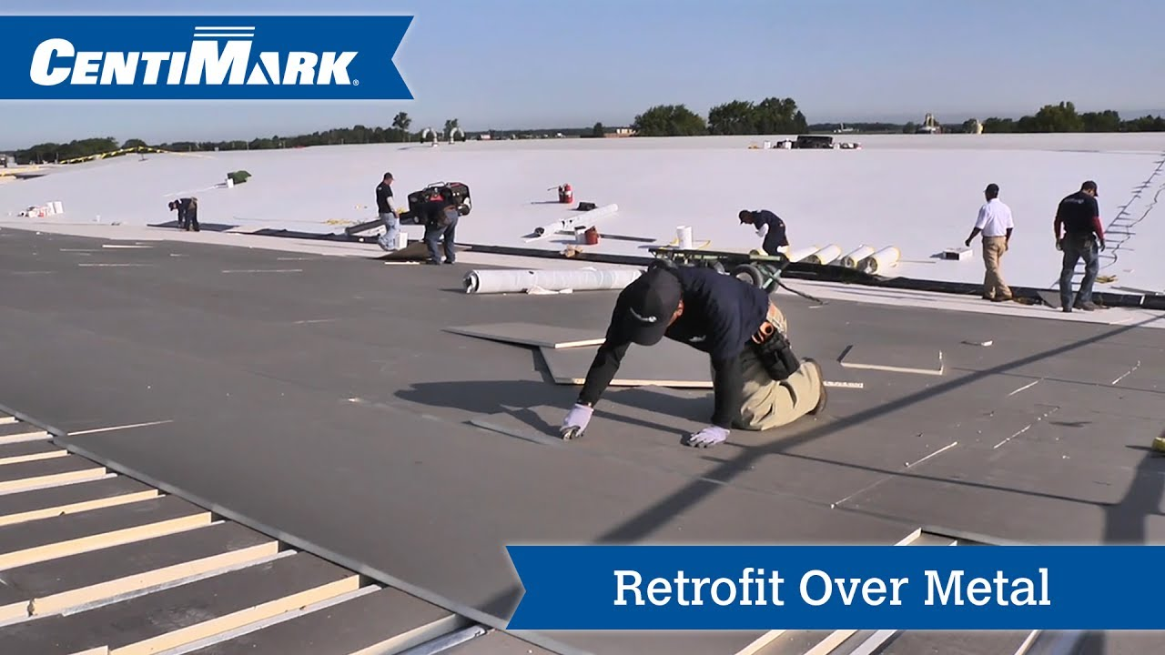 Retrofit Metal Roof System Video Tpo Roofing Centimark