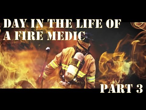 Lisle/Woodridge - Day in the life of a Fire Medic - segment 3