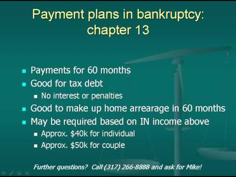 Chapter 13 bankruptcy explained