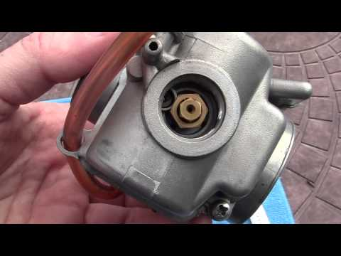 2- HOW TO FIX= Most common MOPED  Carb problem.