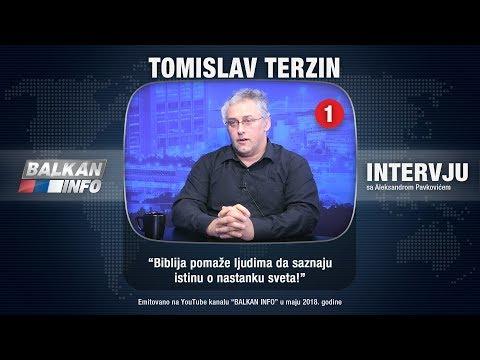 INTERVJU: Tomislav Terzin - Biblija pomaže ljudima da saznaju istinu o nastanku sveta! (27.05.2018)