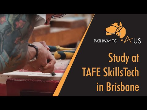 Pathway to Aus checks out TAFE SkillsTech in Brisbane