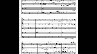 Fantasia upon one note H. PURCELL score