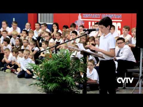 Kentucky Christian Academy - Ribbon Cutting 2015