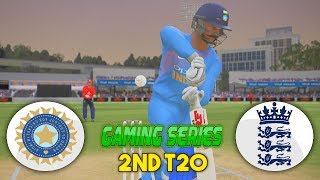 INDIA VS ENGLAND 2018 - 2nd T20 (ASHES CRICKET 2017 1080P HD) XBOX 1S)