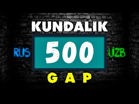 Rus tilida kundalik 500ta gap | 20 daqiqada rus tili