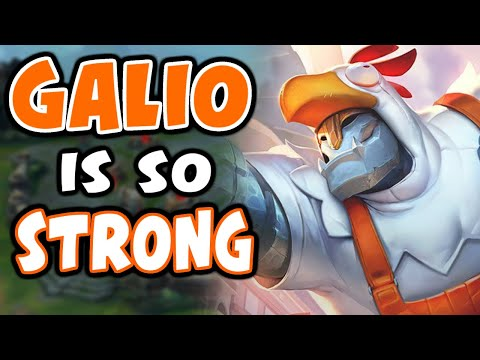 Galio is one of the BEST MIDS for S11 | Challenger Galio | 10.23 - League of Legends