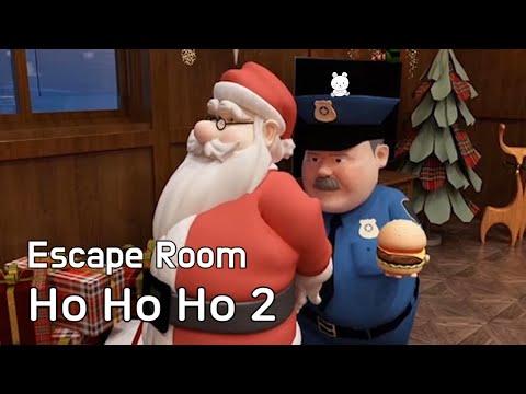 Escape Room Collection Ho Ho Ho 2 Walkthrough - Escape Room Club (GBFinger Studio)