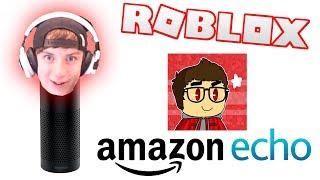Amazon Echo: JoshPlaysRoblox Edition