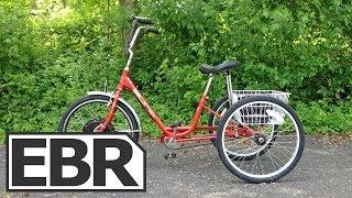 E-BikeKit E-Trike Kit Video Review - Affordable Trike Style Electric Bike Conversion Kit