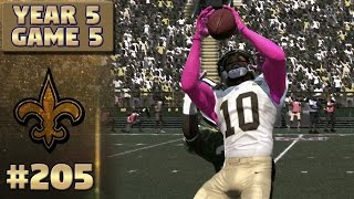 emerging star   packers highlights s5 g5   madden nfl 17 new orleans saints franchise ep 205