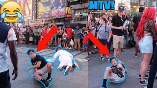 FAKE FALLING IN NYC! FT. CHRISTIAN LALAMA