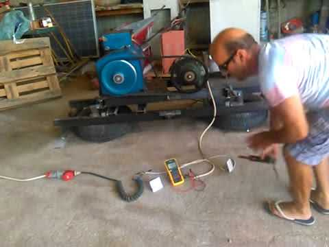 Free Energy Motor   Generator QMOGEN 1KWATT EVIVA unit from Kiev Ukraine    YouTube