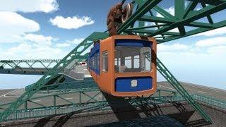 Schwebebahn Simulator 2013 Gameplay (PC HD)
