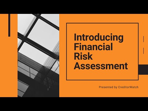 Introducing Financial Risk Assessment