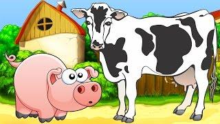 ვისწავლოთ ცხოველები, სასწავლო ვიდეო პატარებისთვის. Viscavlot cxovelebi, video bavshvebistvis