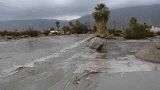 Borrego Flash Flood Street Flow 082513
