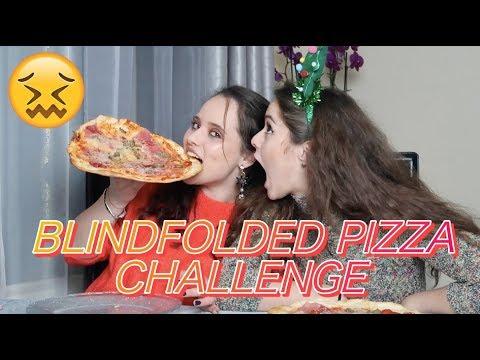 BLINDFOLDED PIZZA CHALLENGE