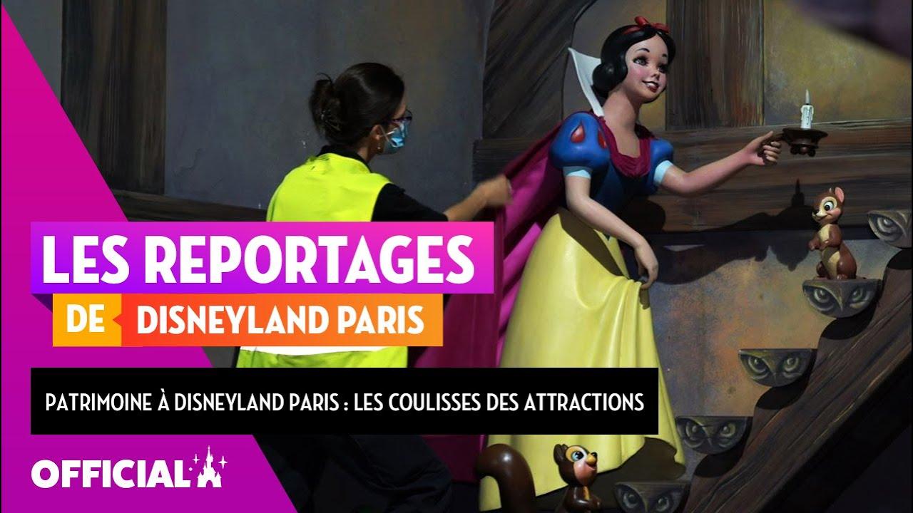 Le Patrimoine à Disneyland Paris : dans les coulisses des attractions