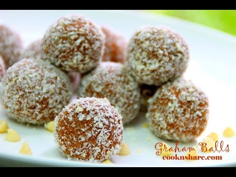 Graham Balls - No Bake 4 Ingredients