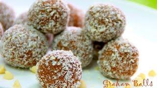 Graham Balls - No Bake 4 Ingredients