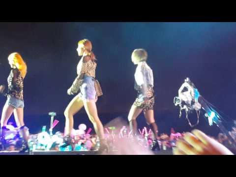 [Fancam] 170325 EXID to HaNoi  - Hot Pink  @MBC Music Kplus Concer