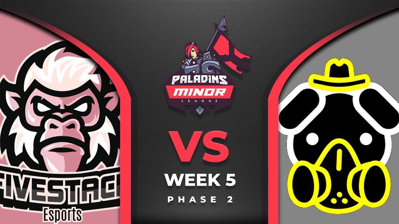 PML 2019 - North America - Phase 2 - Week 5 - FiveStack Esports vs Exile